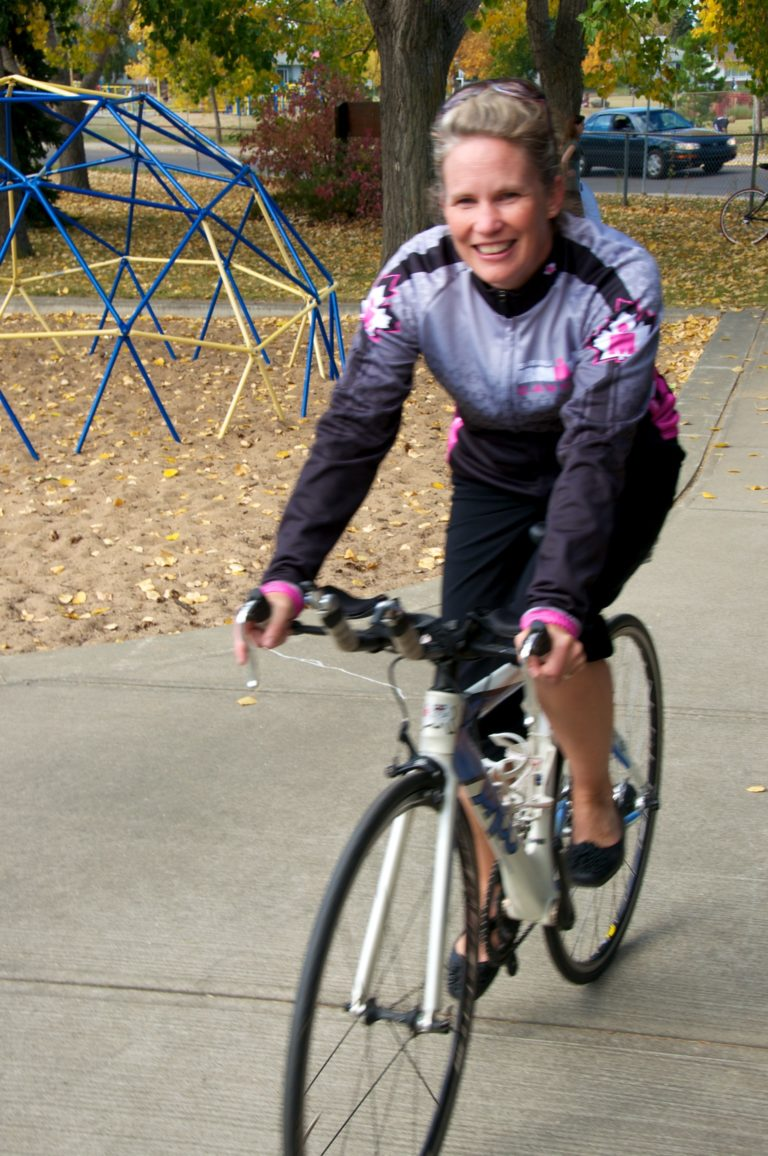 Dr Wendy Coburn is an active Triathaloner!